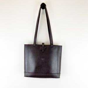 Michael Green Scandiabag VTG Brown Leather Handbag